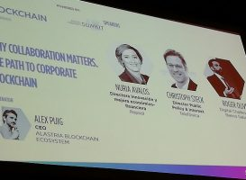 conferencias de blockchain en DES18