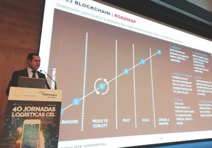 blockchain en la logística
