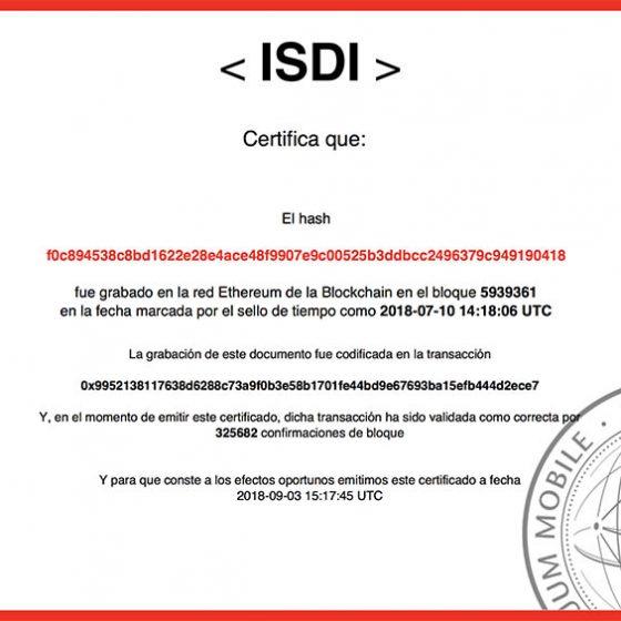 diploma ISDI