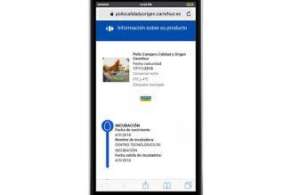Carrefour certifica con Blockchain los pollos Coren