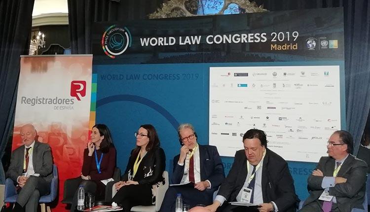 validez jurídica de un documento blockchain XXVI Congreso Bienal de la World Jurist Association en Madrid