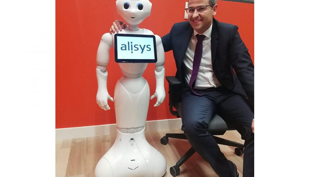 robot pepper blockchain Alisys