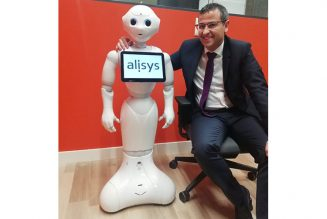 robot pepper blockchain Alisys