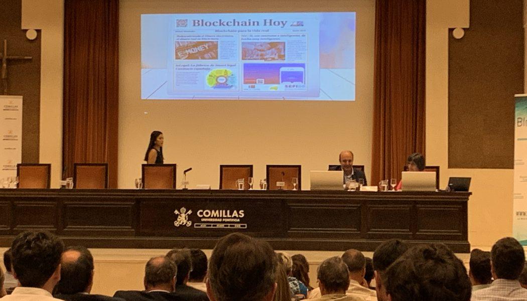 ponencias de I Jornada Blockchain Economía