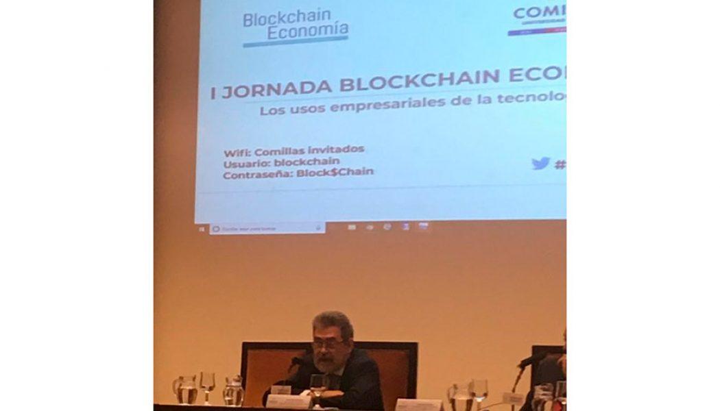 Trending topic de la I Jornada Blockchain Economía