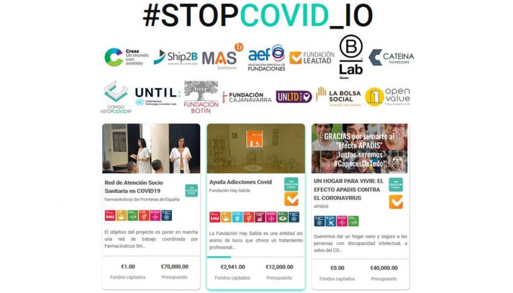 blockchain contra COVID-19