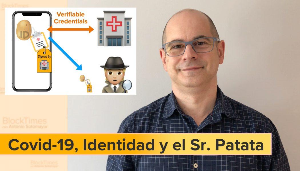 ¿Como es la Identidad Descentralizada en APPs contra COVID-19?