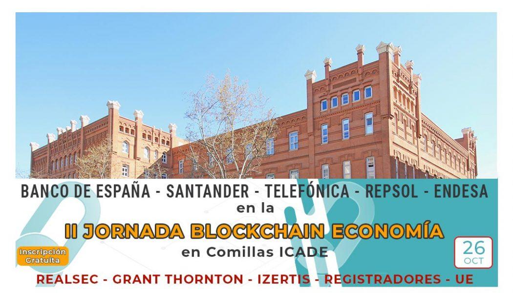 II Jornada Blockchain Economía