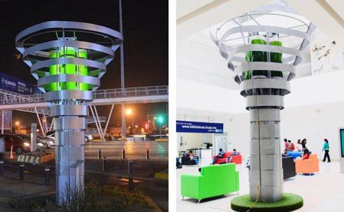 Climatetrade trae el árbol robot premiado por el MIT por descontaminar ciudades