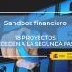 Blockchain arrasa en el Sandbox financiero