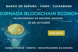 III Jornada Blockchain Economía con Banco de España, CNMV y Caixabank